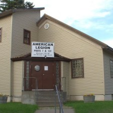 American Legion building in Kalispell